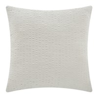 Dkny Motion Crinkle Knit Bed Cushion Oatmeal 65X65cm