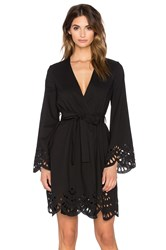 Keepsake Mixed Messages Robe Black