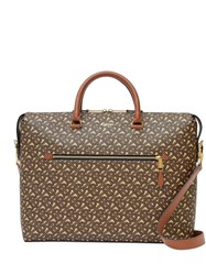 Burberry Monogram Print Briefcase 60
