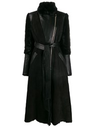 Temperley London Multi Textured Belted Coat 60
