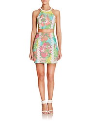 Lilly Pulitzer Vanna Two Piece Dress Shorely Blue