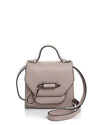 Mackage Rubie Mini Crossbody Blush Gunmetal