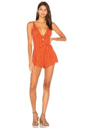 Somedays Lovin Road To Wilderness Playsuit Red