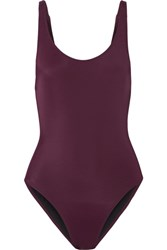 Solid And Striped The Anne Marie Swimsuit Burgundy