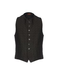 Barena Vests Dark Brown