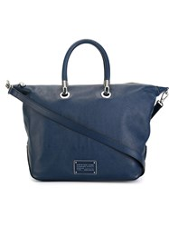 Marc By Marc Jacobs 'New Too Hot To Handle' Tote Blue