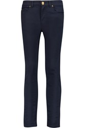 Alexander Mcqueen Mid Rise Skinny Jeans Blue