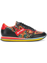 Etro Floral Runner Sneakers Black