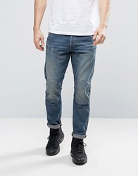G Star 5620 3D Tapered Jeans Medium Aged Blue Wash Medium Aged