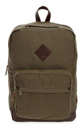 United By Blue Hudderton Backpack Green Moss