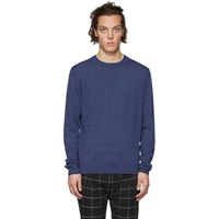 Paul Smith Ps By Blue Merino Sweater