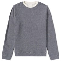 Oliver Spencer Robin Stripe Sweat Blue