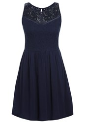 Evenandodd Summer Dress Dark Blue