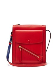 Joseph Mount Leather Cross Body Bag Red