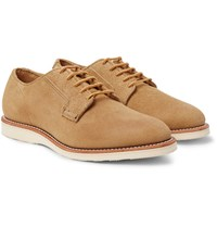 Red Wing Shoes Postman Suede Derby Tan