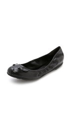 Marc By Marc Jacobs Elastic Mouse Ballerina Flats Black