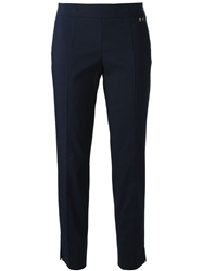 Tory Burch Cropped Trousers Brown