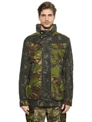 G Star Camo Cotton Gabardine Field Jacket