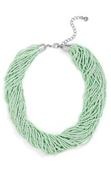 Baublebar Women's Myra Beaded Collar Mint