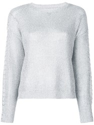 Rta Knitted Sweater Silver