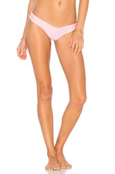 Stone Fox Swim Tucker Thong Bottom Pink