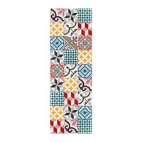 Hibernica Collection Ceramic Vinyl Floor Mat Hib18240 Multi
