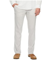 Perry Ellis Slim Fit Linen Chino Natural Linen Men's Clothing Beige