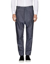 Tom Rebl Casual Pants Dark Blue