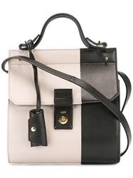 Desa 1972 Colour Block Crossbody Bag Nude Neutrals