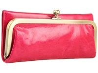 Hobo Rachel Fuchsia Vintage Leather Clutch Handbags Pink