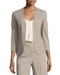 Theory Lindrayia Crunch Wash Blazer Warm Cocoon