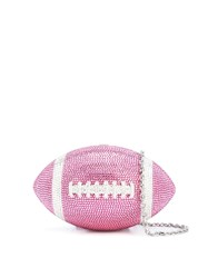 Judith Leiber Couture Football Crystal Clutch 60