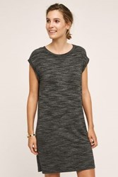 Cloth And Stone Melange T Shirt Dress Grey Black And White