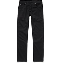 James Perse Cotton Twill Trousers Black