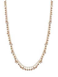 Lonna And Lilly Crystal Long Necklace Natural