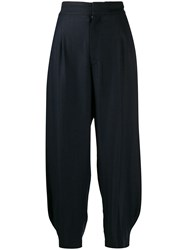 Y's High Waist Tapered Heel Trousers 60