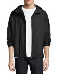 Salvatore Ferragamo Small Gancini Hooded Jacket Navy