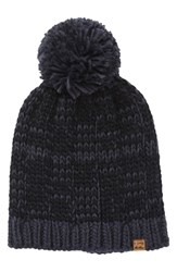 Billabong Chill Out Pompom Beanie Blue Blue Ink