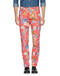 Messagerie Casual Pants Coral