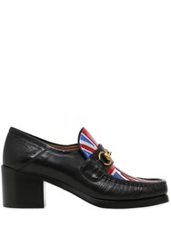 Gucci 55Mm Vegas Horsebit Leather Pumps