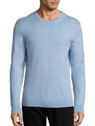 Burberry Richmond Cashmere Blend Sweater Light Blue