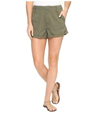 Volcom Dittybopper Shorts Army Green Combo Women's Shorts Brown