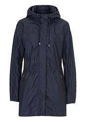 Betty And Co. Hooded Parka Blue