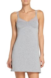 Naked Women's Knit Chemise Light Grey Heather