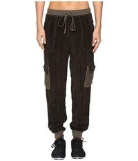 Hard Tail Cargo Bomb Jogger Olive Drab Women's Casual Pants