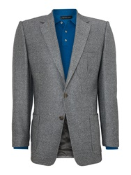 Chester Barrie Albemarle Twill Jacket Grey
