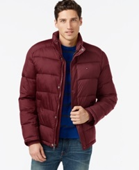 Tommy Hilfiger Classic Puffer Jacket Red