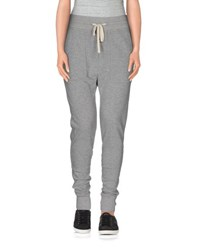 James Perse Standard Trousers Casual Trousers Women Grey