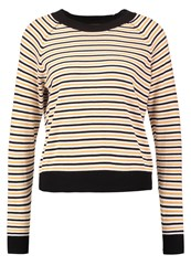 Twintip Jumper Black White Mustard