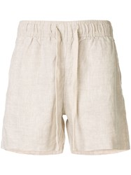 Venroy Lounge Shorts Neutrals